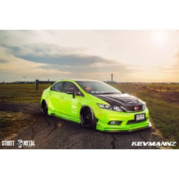 Wide Body Kit (Completed Set) for Civic FB Si DX LX  9th-Gen 2012 - 2015