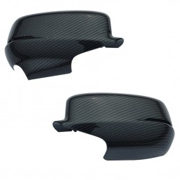 Honda Accord 13-17 REPLACEMENT Carbon Fiber Rearview Mirror Cover