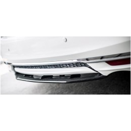 16-17 Honda Accord Carbon Fiber Rear Center Diffuser