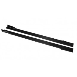 Universal Carbon Fiber Side Skirt Extension Kits Type C