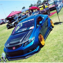 KevMannz Civic Coupe 2012-2013 Full Wide Body Kit